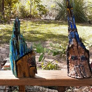 Driftwood churches